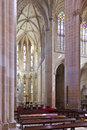Batalha monastery altar and apse of the church gothic manueline masterpiece portugal unesco world heritage site Royalty Free Stock Photos