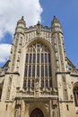 Bath abbey the church of saint peter and saint paul Royalty Free Stock Image