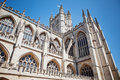 Bath abbey a famous landmark in the city of bath in somerset england fragment Stock Photography