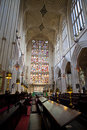 Bath abbey interior of the historic Royalty Free Stock Photography