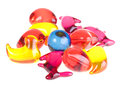 Bath beads for children Royalty Free Stock Image