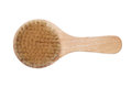 Bath brush isolated over white background Royalty Free Stock Photography