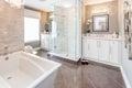 Image : Bath room  bathrobe mother