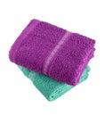 Bath towel Royalty Free Stock Photo