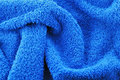 Bath towel textile Royalty Free Stock Photo