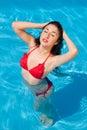 Bathing beauty Royalty Free Stock Photo