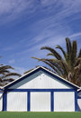 Bathing hut Royalty Free Stock Photo