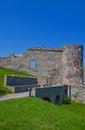 Bathory palace (XVI c.) of Devin castle. Bratislava, Slovakia