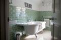 Bathroom Of Contemporary Family Home Royalty Free Stock Photo