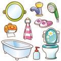 Bathroom element Royalty Free Stock Photo