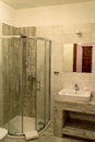 stock image of  Bathroom with shower