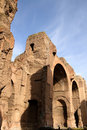 Baths of Caracalla Royalty Free Stock Photos