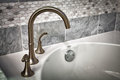 Bathtub faucet Royalty Free Stock Photo