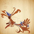 Batik background see my other works portfolio Royalty Free Stock Images