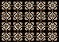 Batik indonesia beautifull ornament pattern