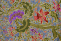 Batik pattern, Indonesia Stock Photo