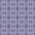 Batik Tribal Tile Pattern Royalty Free Stock Photo