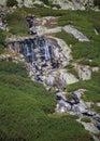 Batizovske waterfall in High Tatras, Slovakia