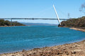 Batman bridge tasmania and river tamar sidmouth australia Stock Photo