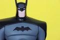 Batman figure close up.