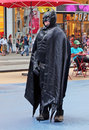 Batman in NY. Stock Photography