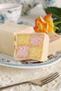 Battenberg Cake Royalty Free Stock Photo