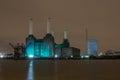Battersea Power Station at Night,london uk