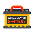 Battery accumulator energy electricity tool vector illustration.