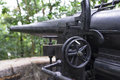 Battery gun the historic british at fort pasir panjang in singapore Royalty Free Stock Photo