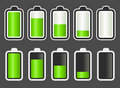 Battery Level indicator Stock Photography