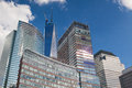 Battery Park on Manhattan Island in New York City Royalty Free Stock Photo