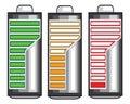 Battery power eps illustration design Royalty Free Stock Image