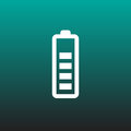 Battery vector icon illustration graphic design.