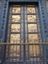 Battistero di san giovanni door in florence italy Stock Photography