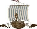 Battle Viking Ship