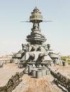 Battleship Texas USS Texas & x28;BB-35& x29; Royalty Free Stock Photo
