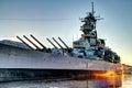 Battleship Royalty Free Stock Photo