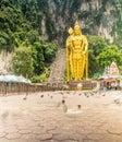 Batu Caves in Kuala Lumpur Royalty Free Stock Photo