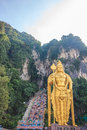 The Batu Caves Lord Murugan Statue, Kuala Lumpur, Malaysia. Royalty Free Stock Photo