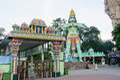 Batu Caves's entrance in Kuala Lumpur Malaysia. Royalty Free Stock Photo
