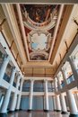 Interior of a classical building Royalty Free Stock Photo
