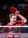 Baum patrick ger world ranking number during the liebherr world table tennis championships may may paris fra Royalty Free Stock Photo