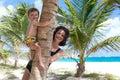 Bautiful and tropical beach Foul Bay. Royalty Free Stock Photo