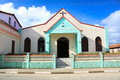 Bautista church in Baracoa,  Cuba Stock Photography