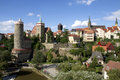Bautzen the city in eastern germany Royalty Free Stock Photography