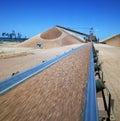 Bauxite mining Royalty Free Stock Photo