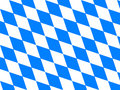Bavaria flag Stock Image