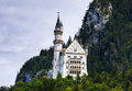 Bavaria neuschwanstein castle germany august image with taken on th august nineteenth century romanesque revival palace on Stock Images