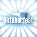 Bavaria oktoberfest design background creative fresh Royalty Free Stock Photos
