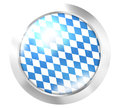Bavaria oktoberfest round icon button Stock Image